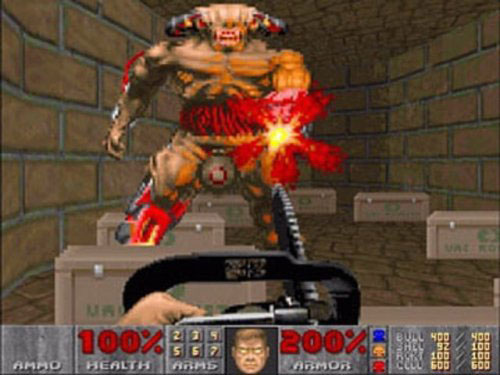 doom how to get chainsaw